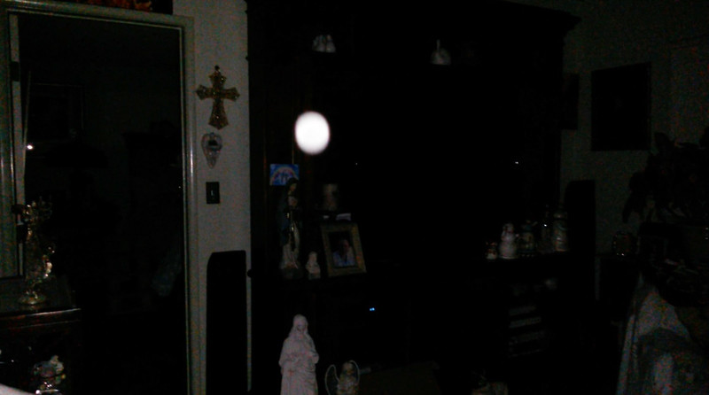 This is the second still image, of four images presented, of Archangel Uriel; as captured on video Easter evening, April 1, 2018.