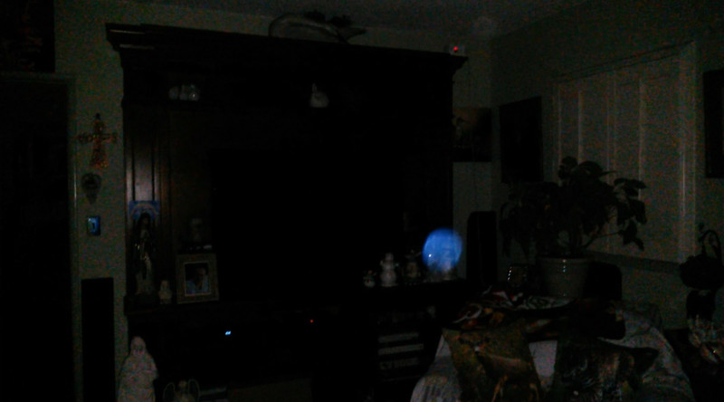 This is the second still image, of four images presented, of The Light of Jesus; as captured on video the evening of March 25, 2017