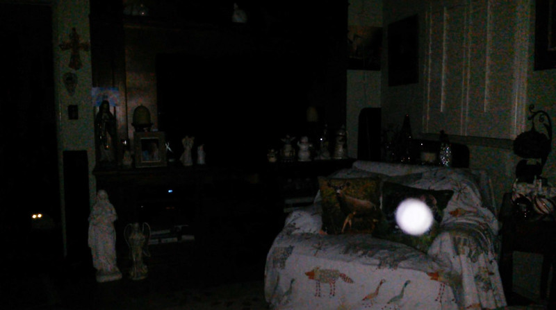 This is one still image, of eight images presented, of The Light of Jesus; as captured on video the evening of November 11, 2018.