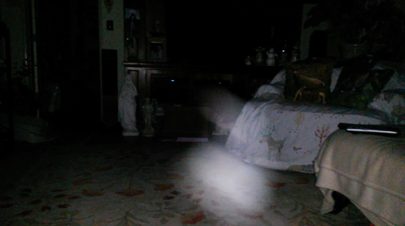 This is the twelfth and final still image of The Light of Mother Mary; as captured on video the evening of May 16, 2018.