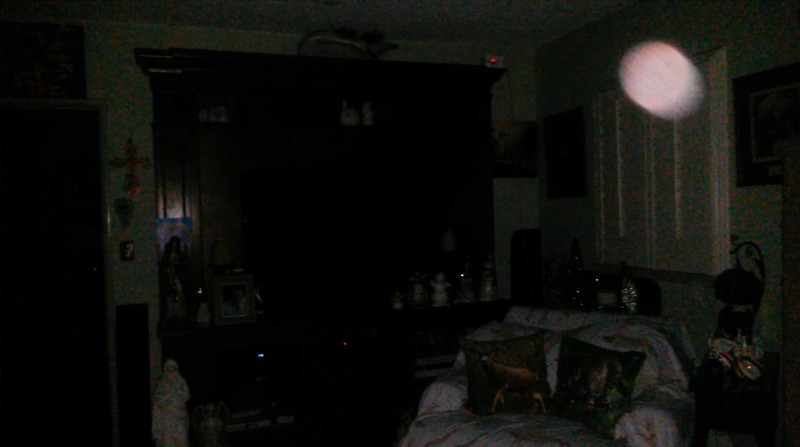 This is a still image of The Light of Mary Magdalene; as captured on video the evening of November 24, 2018.