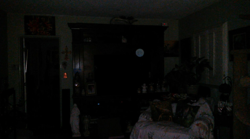 This is one still image, of six images presented, of The Light of Jesus; as captured on video the evening of March 5, 2018.