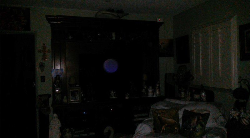 This is the third still image, of seven images presented of The Light of Jesus; as captured on video the evening of December 26, 2018.