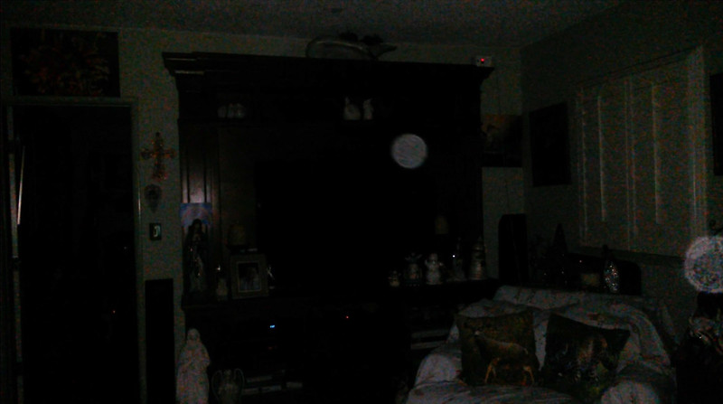 This is one still image, of two images presented, of Archangels Raziel and Zadkiel; as captured on video the evening of November 24, 2018.