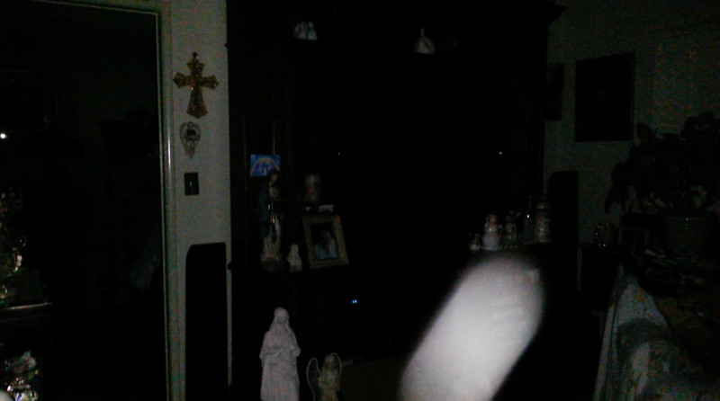 This is the fourth and final still image of The Light of Jesus; as captured on video Easter evening, April 1, 2018.