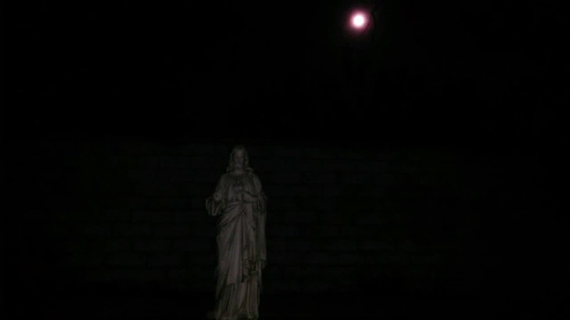THE LIGHT OF JESUS IN SLOW MOTION - AS CAPTURED ON VIDEO THE EVENING OF DECEMBER 31, 2017