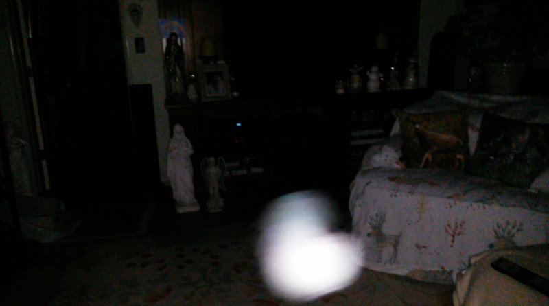 This is the eighth still image, of ten images presented, of The Light of Jesus; as captured on video the morning of September 16, 2018.