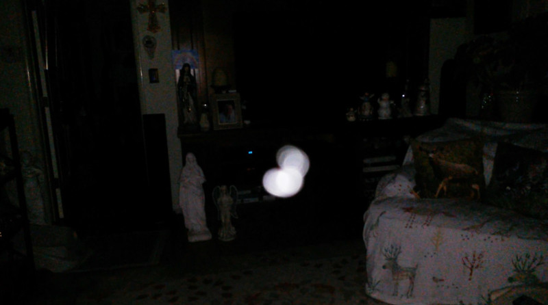 This is the fourth still image, of ten images presented, of The Light of Jesus; as captured on video the morning of September 16, 2018.