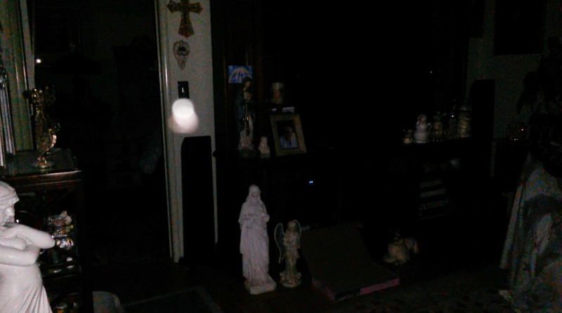 This is one still image, of five images presented, of Archangel Gabriel; as captured on video Easter evening, April 1, 2018.