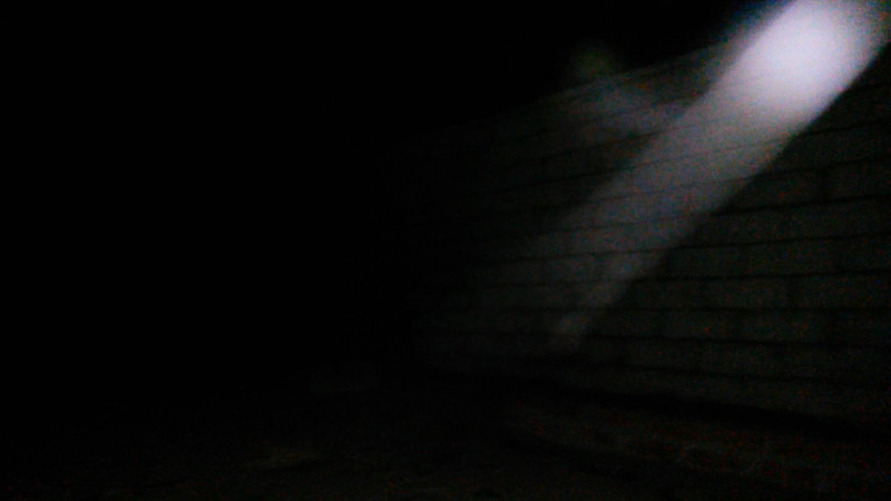 This is the third still image, of four images presented, of The Light of Jesus captured on video the evening of September 2, 2014.