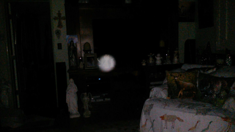This is the fourth still image, of fifteen images presented, of The Light of Jesus; as captured on video the evening of November 16, 2018.