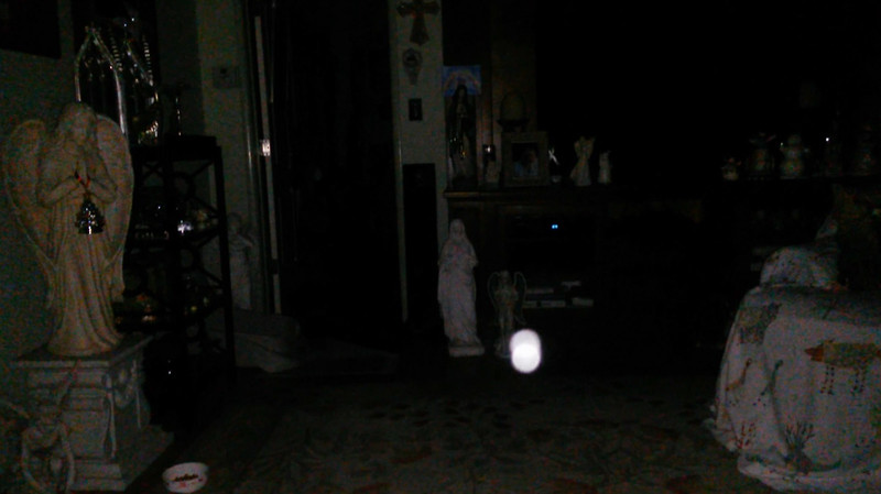This is the fourteenth still image, of fifteen images presented, of The Light of Jesus; as captured on video the evening of November 16, 2018.