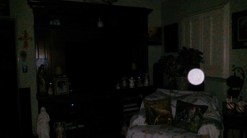 This is a still image of The Light of Mother Mary; as captured on video the evening of September 19, 2018.