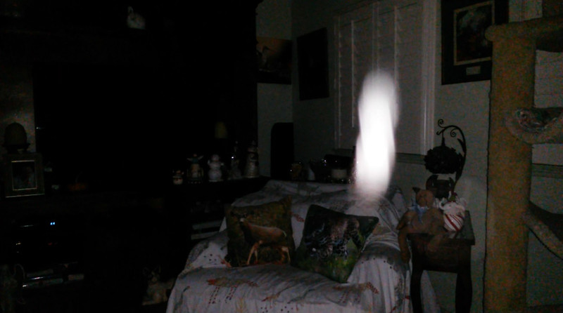 This is the sixth still image, of fourteen images presented, of The Light of Jesus; as captured on video the evening of October 3, 2018.