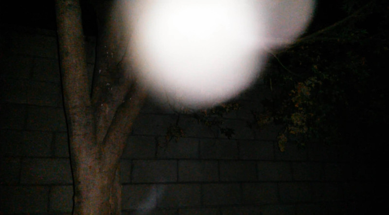 This is the fifth still image, of seven images presented, of The Light of Jesus; as captured on video the evening of July 19, 2016.
