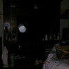 This is the third and final still image of The Light of Saint Francis; as captured on video the evening of April 7, 2018.