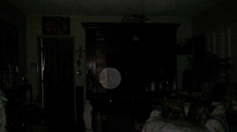 This is the fourth and final still image of The Light of my Fiance Ken; as captured on video the evening of April 16, 2018.