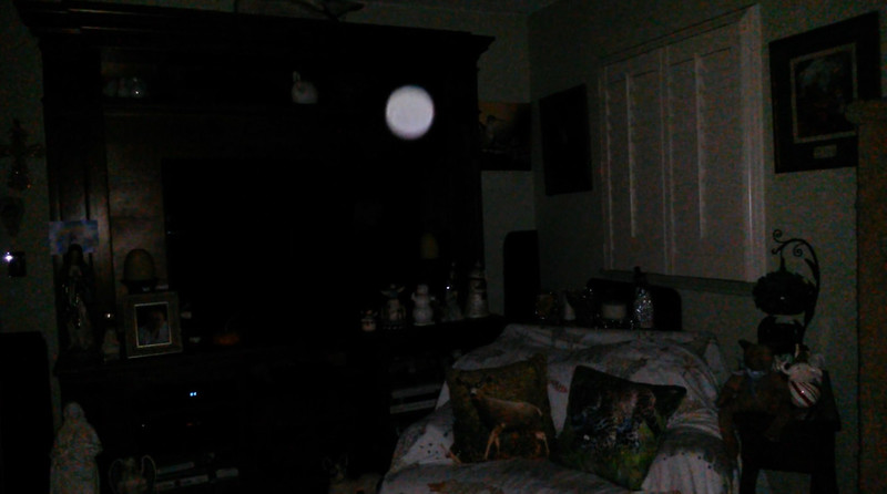 This is the second still image, of four images presented, of The Light of Mary Magdalene; as captured on video the evening of October 3, 2018.