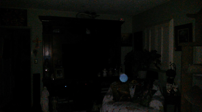 This is a still image of The Light of Jesus; as captured on video the evening of February 16, 2018.