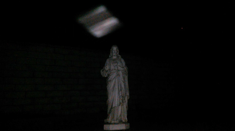 This is the third still image, of four images presented, of The Light of Jesus; as captured on video the evening of February 9, 2018.