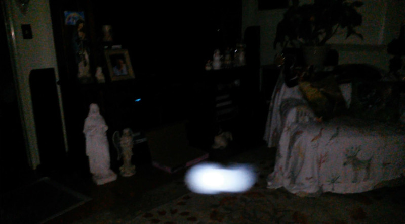 This is the fifth still image, of twelve images presented, of The Light of Jesus; as captured on video the evening of March 26, 2018.