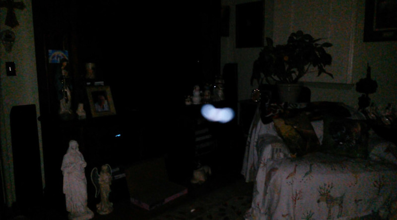 This is one still image, of twelve images presented, of The Light of Jesus; as captured on video the evening of March 26, 2018.