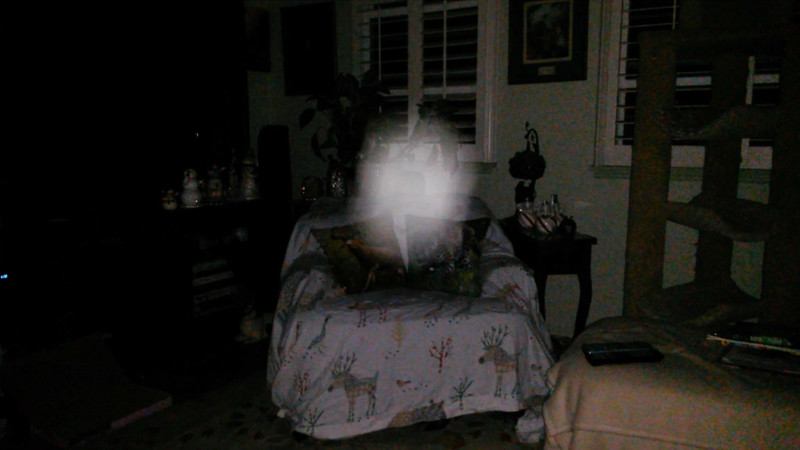 This is the seventh and final still image of The Light of Jesus; as captured on video the evening of August 12, 2018.