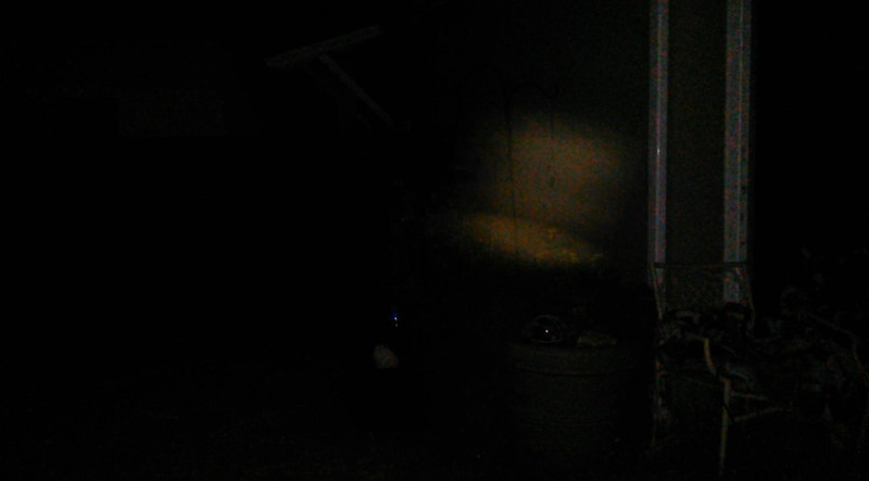 This is the fourth still image, of thirteen images presented, of The Light of Jesus visiting with me on Father's Day; as captured on video the evening of June 19, 2016.
