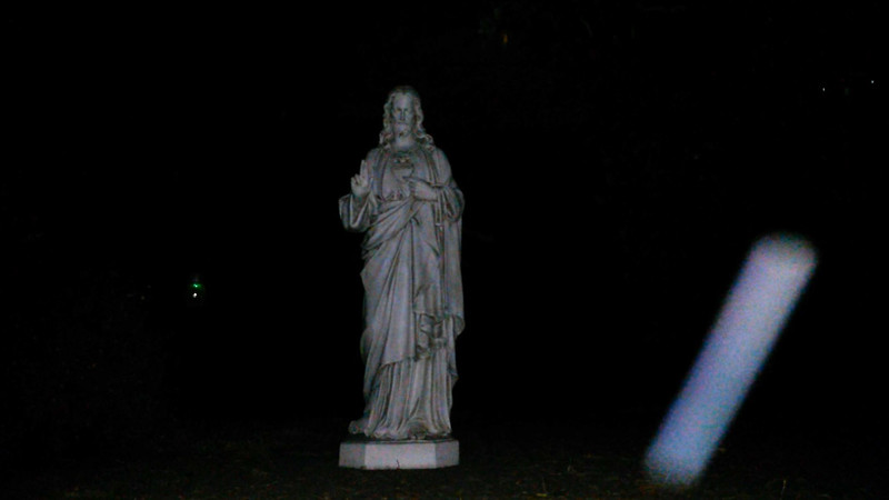 This is the third still image, of four images presented, of The Light of Jesus; as captured on video the evening of July 11, 2018.