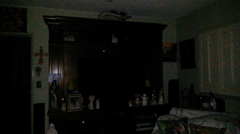 This is the second still image, of fourteen images presented, of The Light of my friend's mother, Trixie; as captured on video the evening of November 2, 2018.