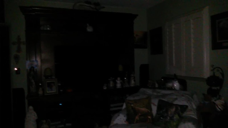 THE LIGHT OF JESUS AND MARY MAGDALENE AT 10:10 P.M WITH ARCHANGELS GABRIEL AND ARIEL - AS CAPTURED ON VIDEO THE EVENING OF OCTOBER 3, 2018