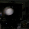 This is the fourth still image, of eight images presented, of The Light of Jesus; as captured on video the evening of December 26, 2018.
