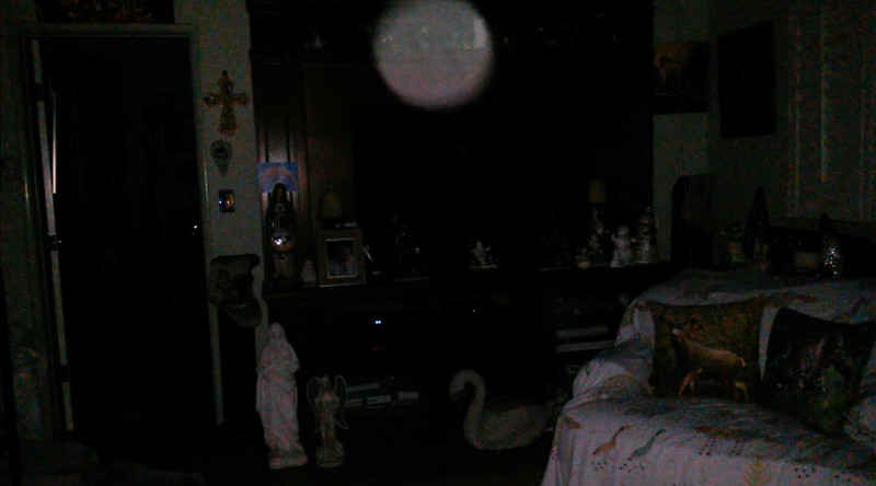 This is the eighth and final still image of The Light of Jesus; as captured on video the evening of December 17, 2018.