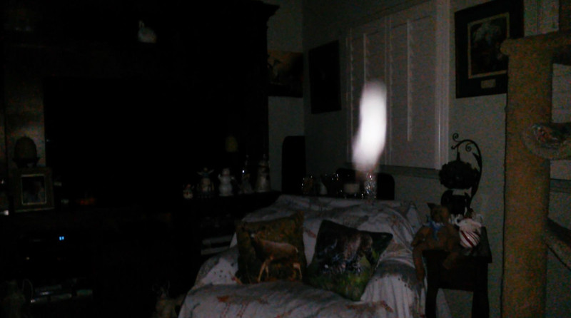 This is one still image, of fourteen images presented, of The Light of Jesus; as captured on video the evening of October 3, 2018.