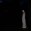 "This still image, of The Light of Jesus descending by my Jesus statue, was captured on video the evening of the Full Moon on August 18, 2016.<br /> <br /> Some Native American tribes called the August Full Moon the ""Sturgeon Moon"" because they knew that the sturgeon of the Great Lakes and Lake Champlain were most readily caught during this Full Moon. They also called August's Moon the ""Full Green Corn Moon."""