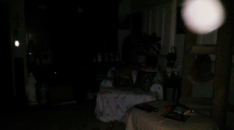 This is the eighth and final still image of The Light of Jesus; as captured on video the evening of February 8, 2018.