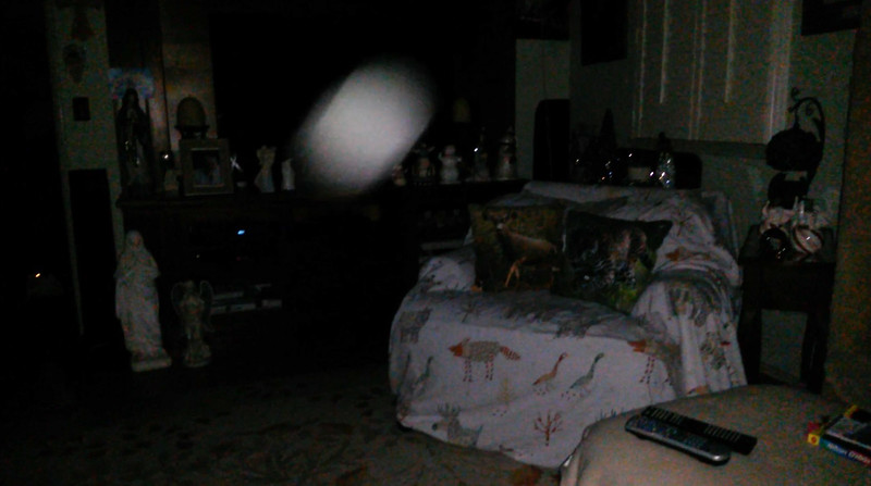 This is the sixth still image, of eight images presented, of The Light of Jesus; as captured on video the evening of November 11, 2018.