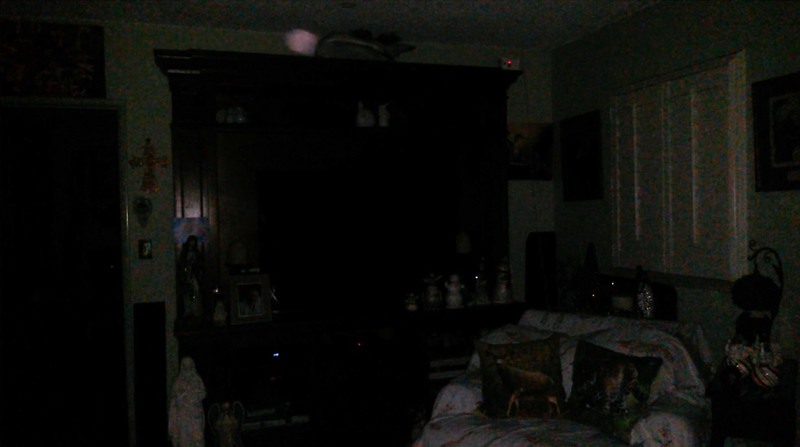 This is one still image, of six images presented, of Archangel Ariel; as captured on video the evening of November 24, 2018.