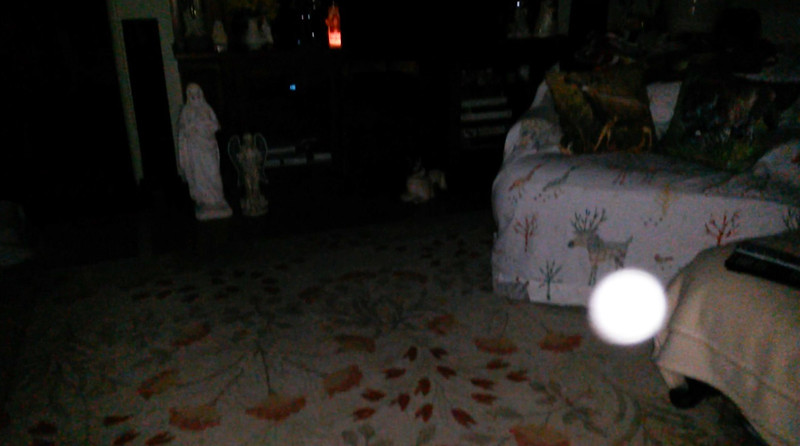 Look at how brilliant her Light is! This is the third and final still image of The Light of Mother Mary; as captured on video Easter Eve, March 31, 2018.