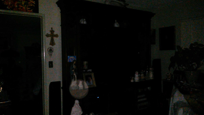 This is the sixth and final still image of The Light of Mother Mary; as captured on video Easter evening  April 1, 2018.