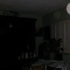 This is a still image of The Light of Mother Mary (larger white orb) and Archangel Ariel; as captured on video the evening of September 12, 2018.