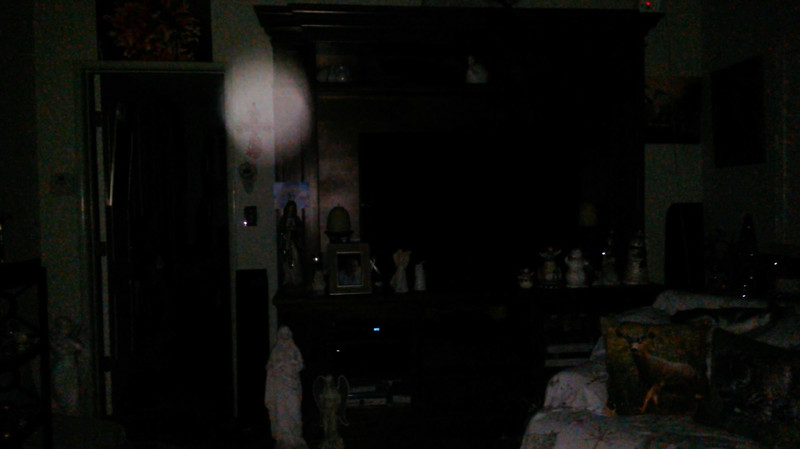 This is the tenth and final still image of The Light of Mother Mary; as captured on video the evening of November 16, 2018.
