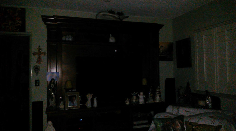 This is the third still image, of fourteen images presented, of The Light of my friend's mother, Trixie; as captured on video the evening of November 2, 2018.