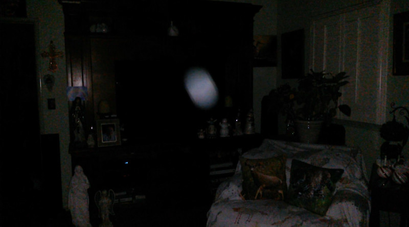 This is the second still image, of three images presented, of The Light of Jesus; as captured on video the evening of September 12, 2018.
