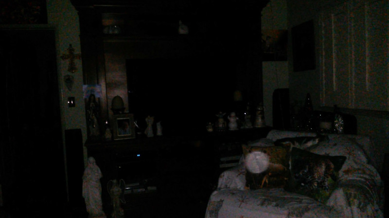 This is the third still image, of eleven images presented, of The Light of Saint Francis; as captured on video the evening of November 16, 2018.