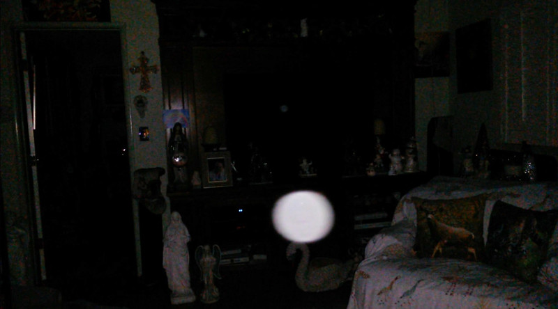 This is the fifth still image, of eight images presented, of The Light of Jesus; as captured on video the evening of December 17, 2018.