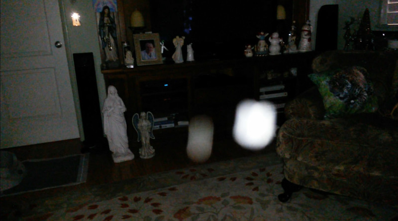 This is the tenth still image, of eleven images presented of The Light of Jesus with Archangel Gabriel; as captured on video the morning of November 3, 2018.