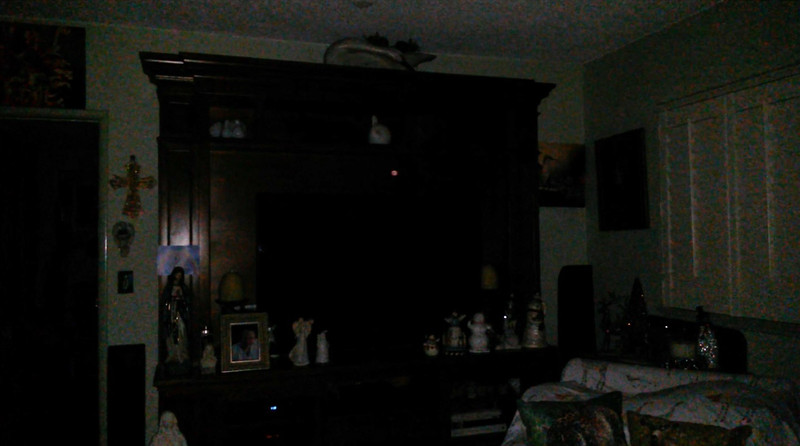 This is the fourth still image, of fourteen images presented, of The Light of my friend's mother, Trixie; as captured on video the evening of November 2, 2018.