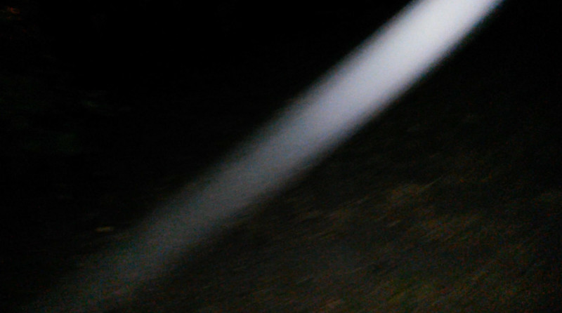 This still image, of The Light of Jesus descending in front of me, was captured on video the evening of June 21, 2017.