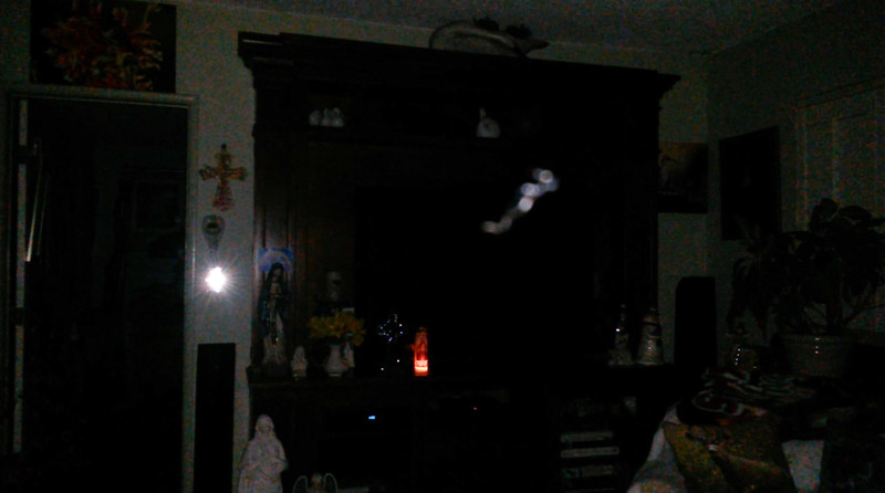 This is the second still image, of eleven images presented, of The Light of Jesus; as captured on video Easter Eve, March 31, 2018.